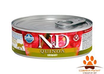 Farmina N&D Cat Quinoa Wet Urinary 80г