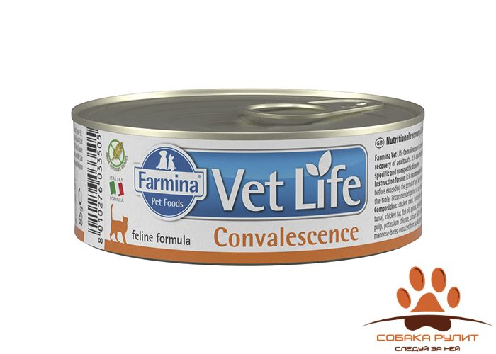 Farmina N&D Vet Life Wet Cat Convalescence 85г