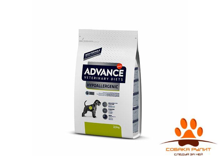 Advance Гипоаллергенный корм для собак с проблемами ЖКТ и пищевыми аллергиями, Hypo Allergenic