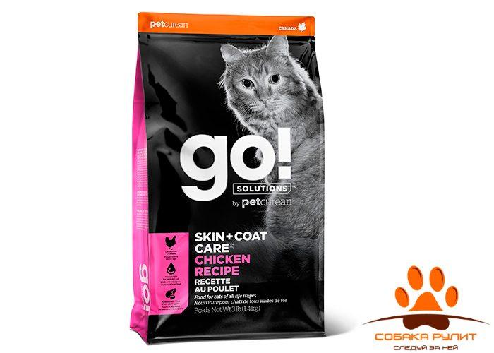 Корм GO! Natural для котят и кошек с цельной курицей, фруктами и овощами, DAILY DEFENCE™ Chicken Cat Recipe