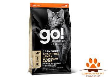 Корм GO! Natural беззерновой корм для котят и кошек, с ягненком и мясом дикого кабана, GO! CARNIVORE GF Lamb + Wild Boar
