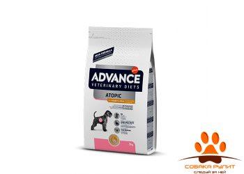 Advance Беззерновой корм для собак при дерматозах и аллергии, с кроликом, Atopic No Grain