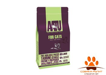 Корм AATU корм для взрослых кошек с уткой, AATU CAT DUCK