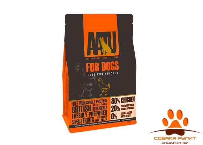 Корм AATU для взрослых собак с курицей, AATU 80/20 CHICKEN