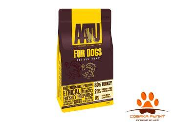 Корм AATU корм для взрослых собак с индейкой, AATU 80/20 TURKEY