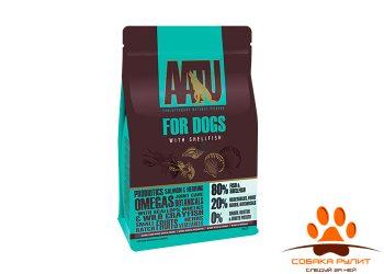 Корм AATU корм для взрослых собак с рыбой и ракообразными, AATU 80/20 FISH WITH SHELLFISH