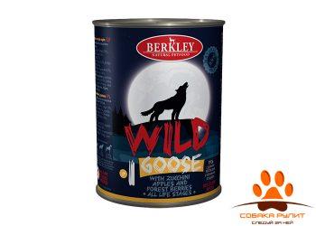 Беркли Вайлд Гусь с цукини яблоками и лесными ягодами для собак всех возрастов №1