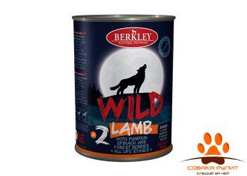 Беркли Вайлд Ягненок с тыквой, шпинатом и лесными ягодами для собак всех возрастов №2