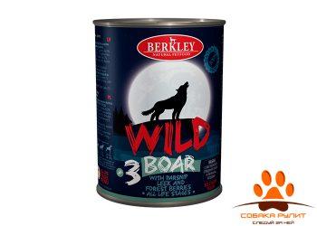 Беркли Вайлд Кабан с пастернаком, сладким луком и лесными ягодами для собак всех возрастов №3