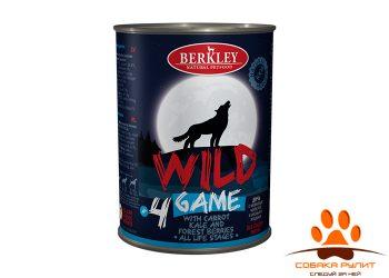 Беркли Вайлд Дичь с морковью, капустой и лесными ягодами для собак всех возрастов №4