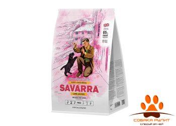 SAVARRA Puppy Large Breed Сухой корм д/щенков крупных пород Ягненок/рис