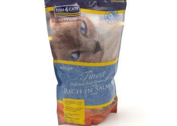 Fish4Cats Finest Salmon сухой корм для кошек