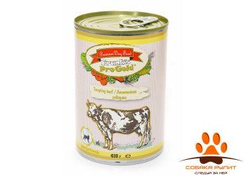 "Frank's ProGold консервы для кошек ""Аппетитная говядина"", Tempting beef Cat Recipe"