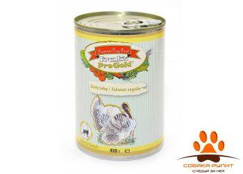 "Frank's ProGold консервы для кошек ""Лакомая индейка"", Dainty turkey Adult Cat Recipe"