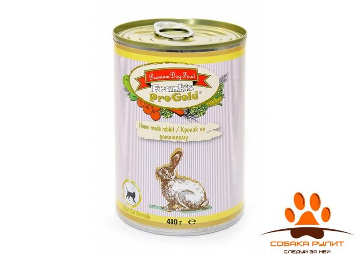 """Frank's ProGold консервы для кошек """"Кролик по-домашнему"""", Home made rabbit Cat Recipe"""