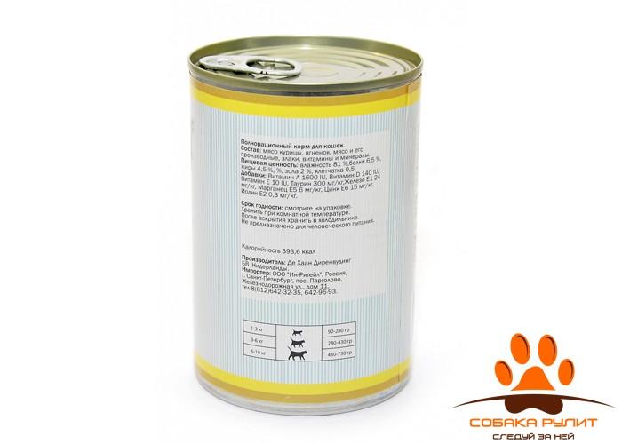 """Frank's ProGold консервы для кошек """"Нежные кусочки ягненка"""", Soft lamb bits Cat Recipe"""