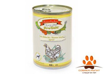 "Frank's ProGold консервы для собак ""Вкусные кусочки курицы"", Tasty chicken bits Dog Recipe"