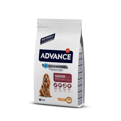 Корм Advance для пожилых собак, с курицей и рисом, Medium Senior