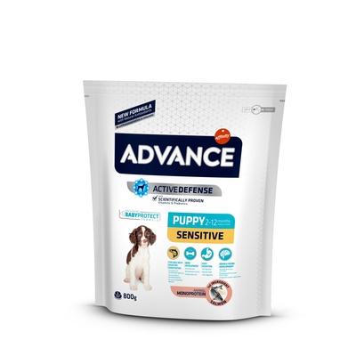 Advance Для щенков с чувствительным пищеварением: лосось и рис (Puppy Sensitive)