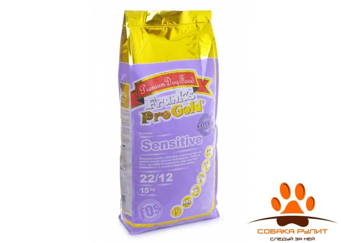 """Корм Frank's ProGold для собак """"Индейка по-голландски"""", Sensitive 22/12"""