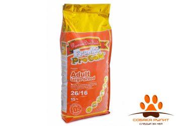 Корм Frank's ProGold для взрослых собак крупных пород с курицей, Adult Large Breed 26/16