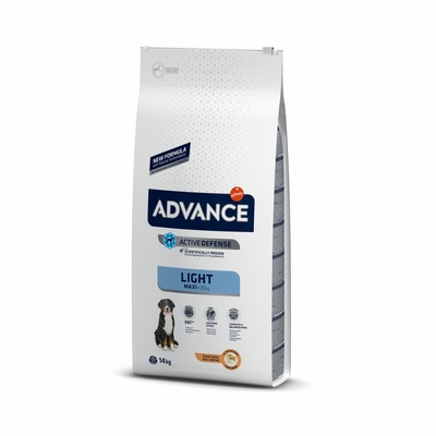 Advance Контроль веса для взрослых собак крупных пород (Maxi Light)