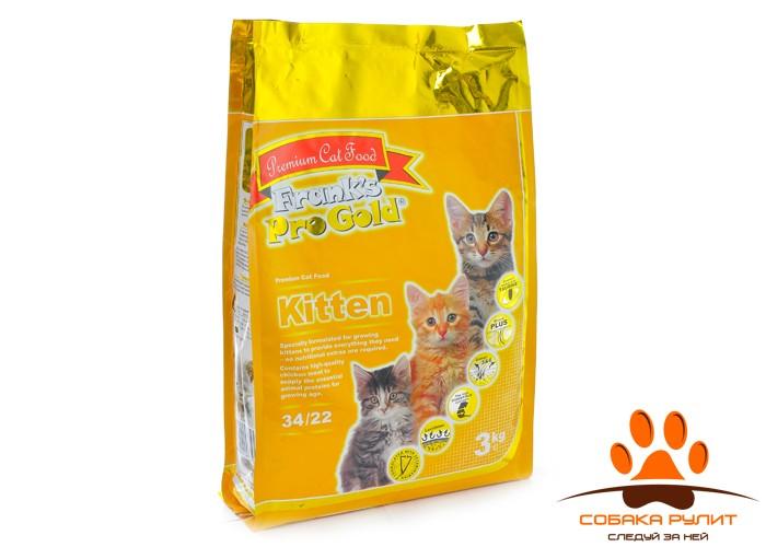 Корм Frank's ProGold для котят с курицей, Kitten 34/22