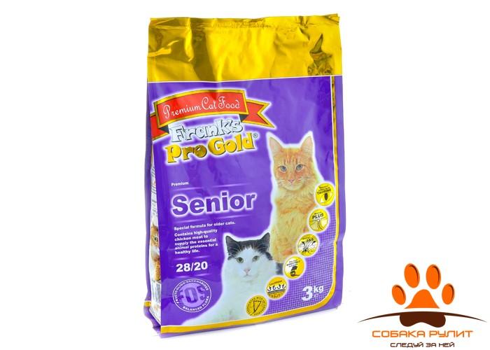 Корм Frank's ProGold для пожилых кошек, Senior 28/20
