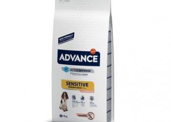 Advance Для собак с чувствительным пищеварением: лосось и рис (Sensitive)