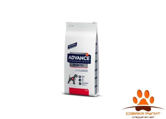 Advance Корм для собак при сахарном диабете и колитах (Diabetes Colitis)