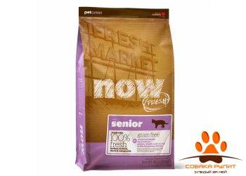 """Корм NOW Natural holistic беззерновой для кошек """"Контроль веса"""" с индейкой, уткой и овощами"""
