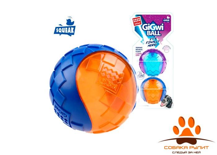 GiGwi Два мяча с пищалкой M