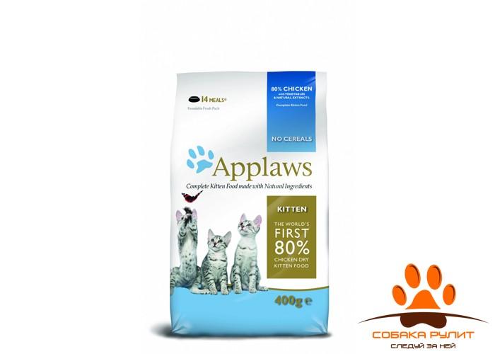 """Applaws Беззерновой корм для Котят """"Курица/Овощи: 80/20%"""" (Dry Cat Kitten)"""