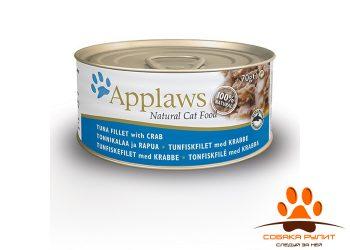 Applaws Консервы для Кошек с Тунцом и Крабовым мясом (Cat Tuna & Crab) 70г