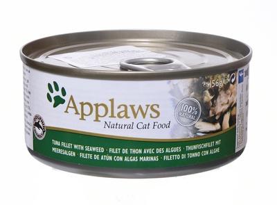 Applaws Консервы для Кошек с филе Тунца и морской капустой (Cat Tuna Fillet & Seaweed)