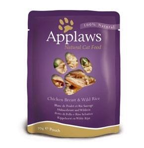 Applaws паучи для кошек с курицей, Cat Chicken pouch