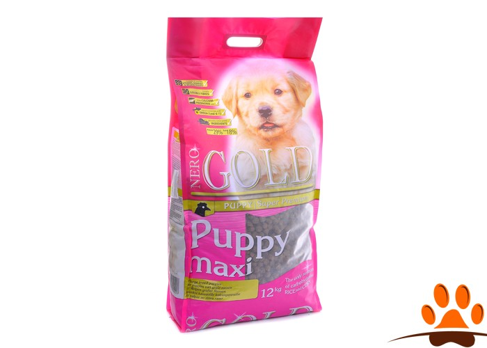Nero Gold Для Щенков Крупных пород: Курица и рис (Puppy Maxi 29/18)