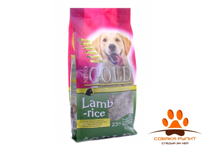Nero Gold Для Взрослых собак с ягненком и рисом (Adult Lamb&Rice 23/10)