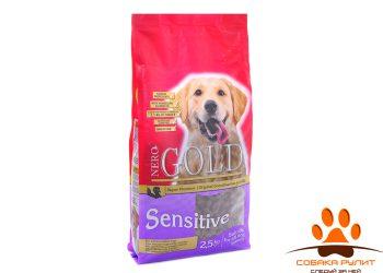 Nero Gold Для Чувствительных собак: Индейка и рис (Sensitive Turkey 23/13)