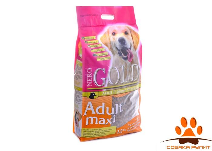 Nero Gold Для Взрослых собак Крупных пород (Adult Maxi 26/16)