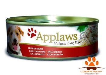 Applaws Консервы для Собак с Курицей и рисом (Dog Chicken & Rice)156г