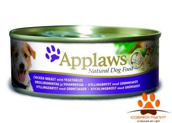 Applaws Консервы для Собак с Курицей, овощами и рисом (Dog Chicken, Veg & Rice) 156г