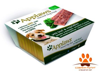 Applaws Паштет для Собак с Говядиной и овощами (Dog Pate with Beef & vegetables) 150г