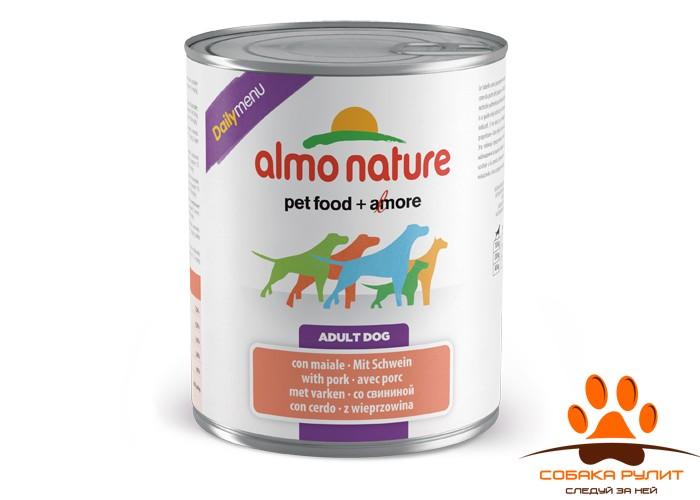 Almo Nature Daily Menu Консервы для собак (в ассортименте)