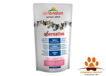 Almo Nature Alternative Корм со свежим лососем (55 % мяса) для кошек