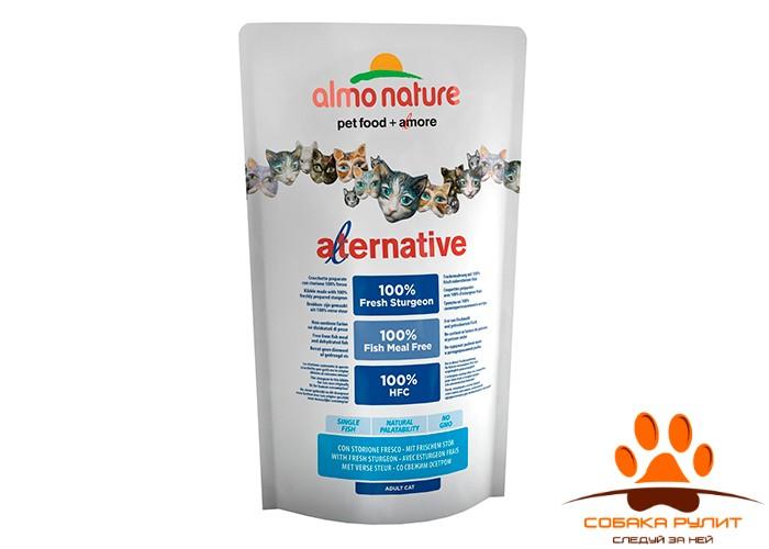 Almo Nature Alternative Корм со свежим осетром  (55 % мяса) для кошек