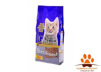Nero Gold Для профилактики мочекаменной болезни у стерилизованных кошек (Cat Sterilized)