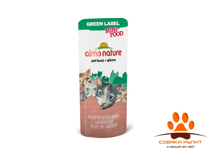 Almo Nature Green Label Mini Food Лакомства для кошек (в ассортименте)