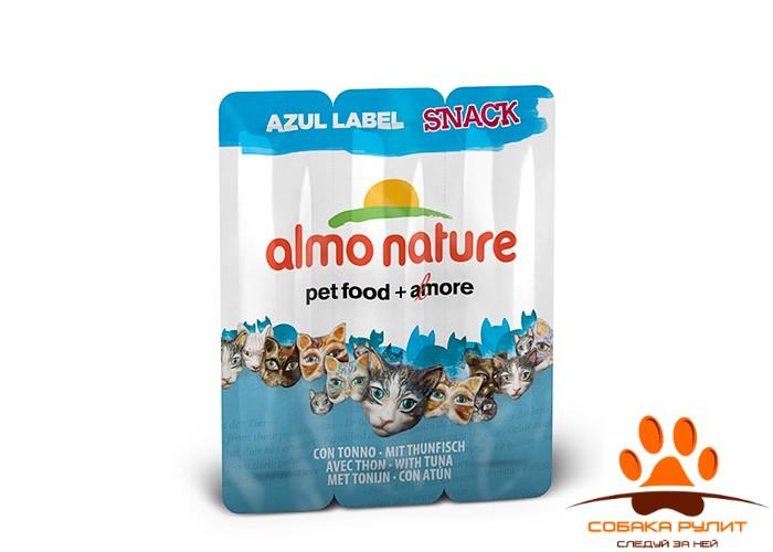 Almo Nature Лакомства – колбаски для кошек 3шт (в ассортименте)
