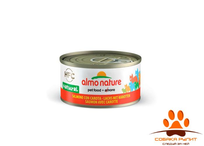 Almo Nature Консервы для кошек Natural 70г (в ассортименте)